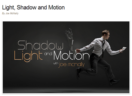 Shadow Light and Motion with Joe McNally