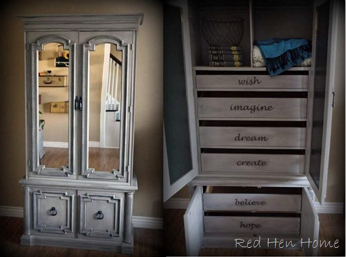 inspirational armoire