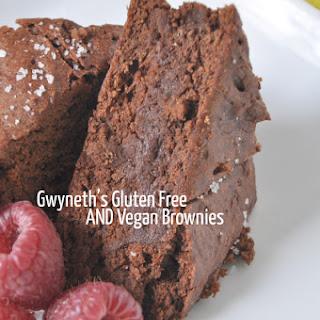 Gwyneth Paltrow's Gluten Free Vegan Brownies