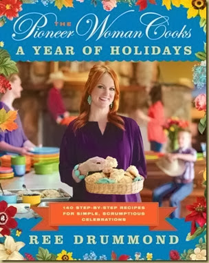 holiday cookbook cover