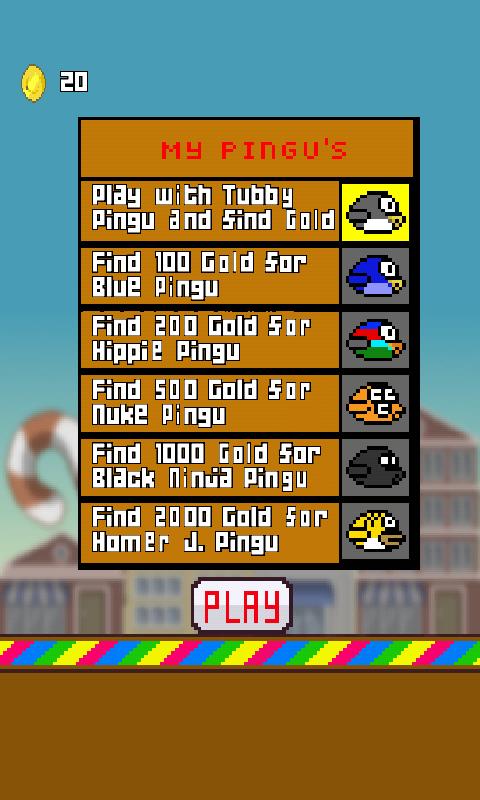 Tubby Pingu - screenshot