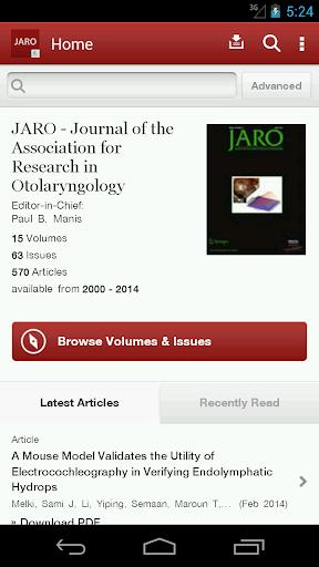 J Assn Research Otolaryngology