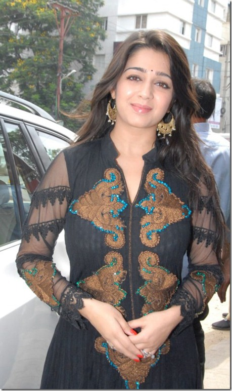 Actress Charmy Kaur Chudidar Dress Stills