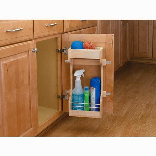 Kitchen Cabinet Door Organizers: Under Sink Storage
