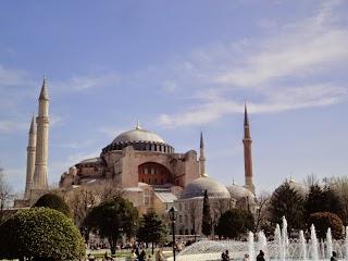 Mosquée Sainte-Sophie à Istanbul