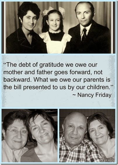 Be Thankful For Your Parents