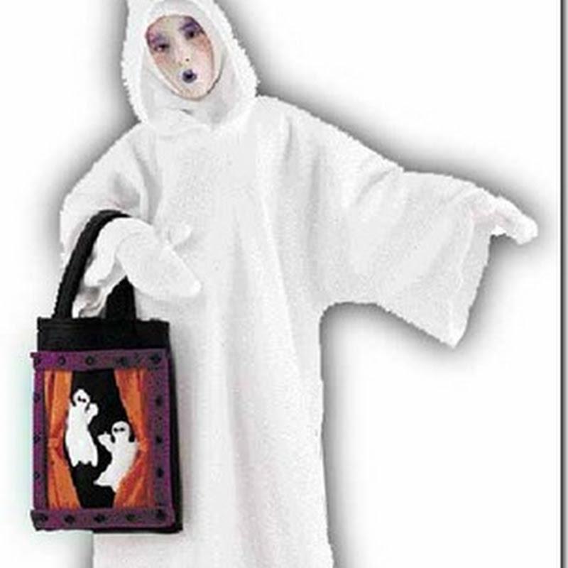 Disfraz de fantasma muy fácil