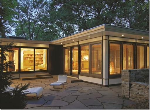 Mid Century Modern & Grabill Windows and Doors: Mid Century Modern Home with Custom ...