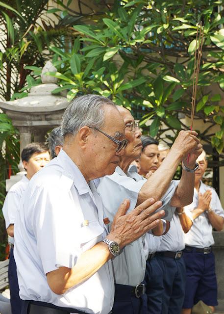 DSC06308 Lễ Hiệp kỵ   Lễ Huý Nhật Cư sĩ Sáng lập viên GĐPT Việt Nam   Tâm Minh Lê Đình Thám