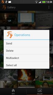Fylet Secure Photo Transfer - screenshot thumbnail