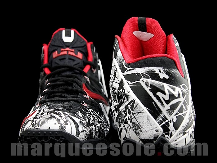 Coming Soon… Nike LeBron XI Graffiti (616175-100) | NIKE ...