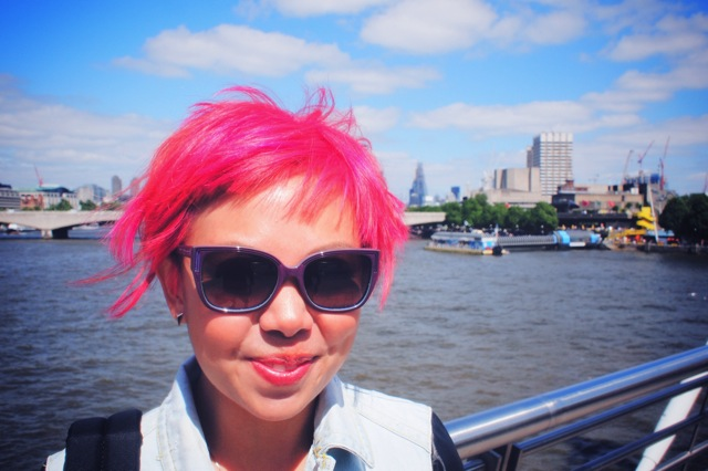 me at millennium bridge