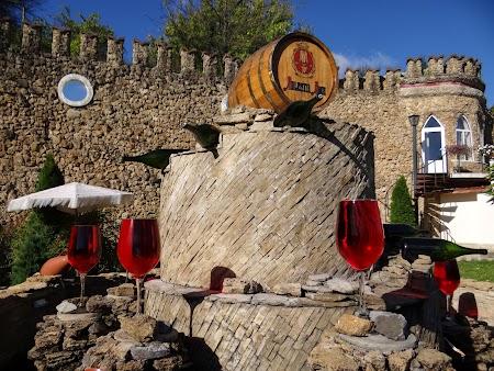 Drumul vinului Basarabia: Fantana de la Milestii Mici