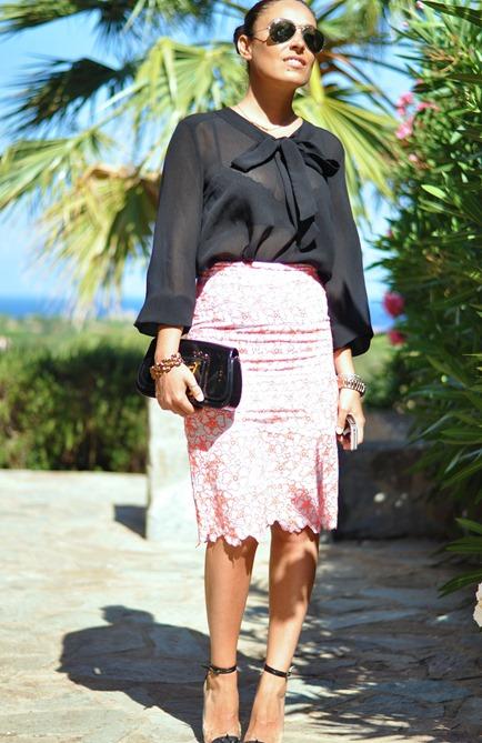 outfit, corsica, blog italiano, asos skirt,  fashion blogger, street style, zagufashion, atlantic pacific