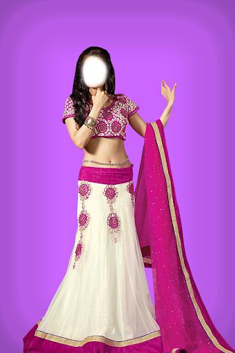 Fancy Saree Blouse Photo Suit