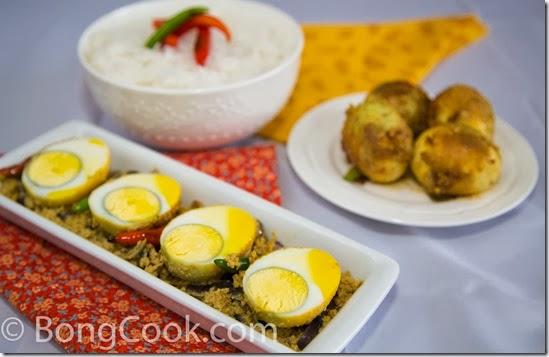 Dim Posto (Egg in Poppy Seed Paste) | BongCook: Bengali and