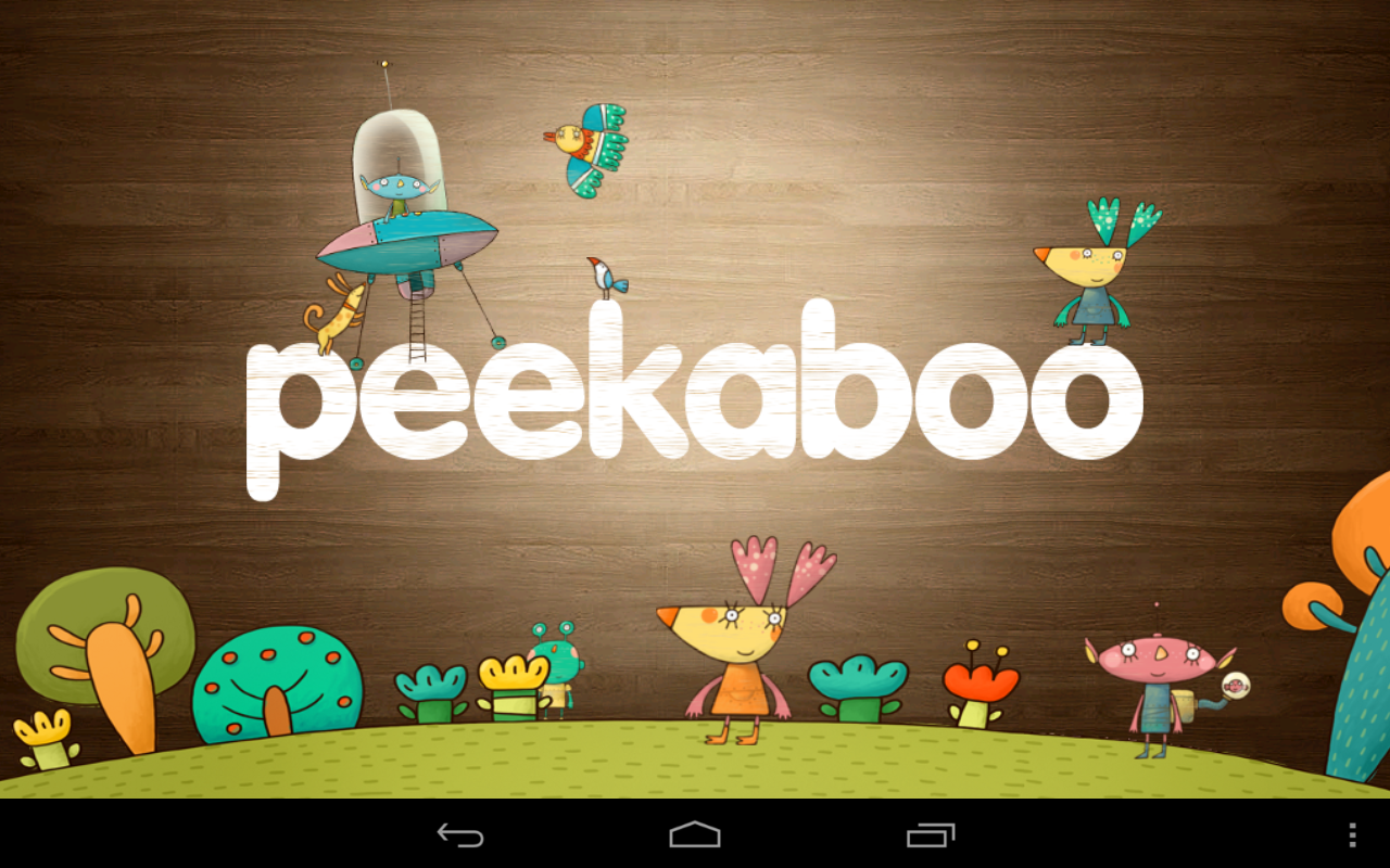 Peekaboo Lite - children game- screenshot
