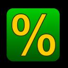 Calculadora por cento icon