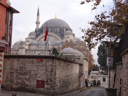 Obiective turistice Istanbul: Moscheea Suleiman Istanbul