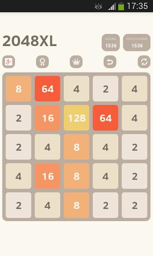玩免費解謎APP 下載2048 XL (5X5) app不用錢 硬是要APP