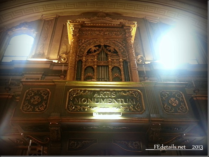 Organo della Chiesa di Santa Maria del Suffragio, Ferrara - Organ of the Church of Santa Maria del Suffrage, Ferrara, Italy