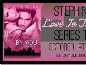 Blog Tour: Love In the City Series by Steph Nuss