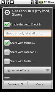 Auto Check In- screenshot thumbnail