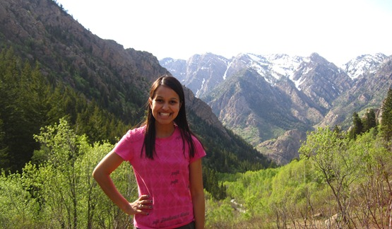 Brooke in the Mountains