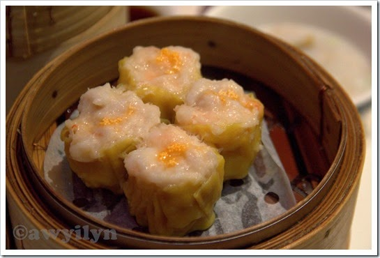 Pork dumpling with crabmeat