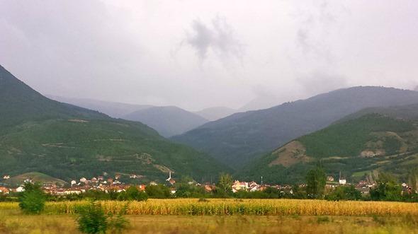 Na estrada - Kosovo