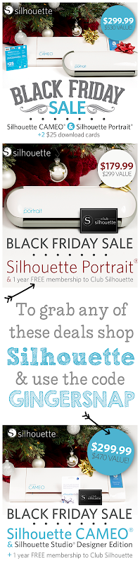 Silhouette #BlackFriday deals #blackfriday14