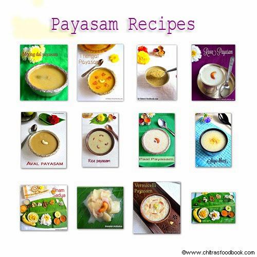 Payasam-recipes