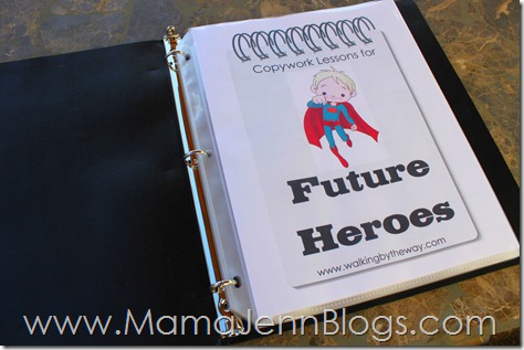 Copywork for Future Heroes