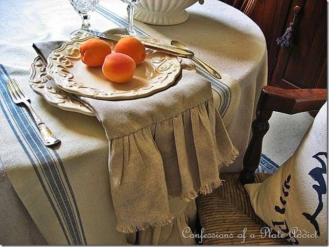 CONFESSIONS OF A PLATE ADDICT Decorating with Country French Fabrics