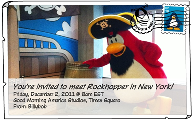 Rockhopper in New York