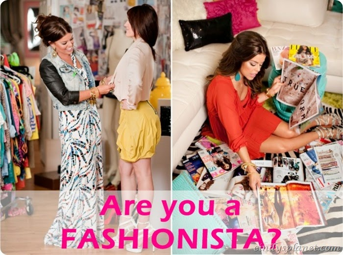are you a fashionista