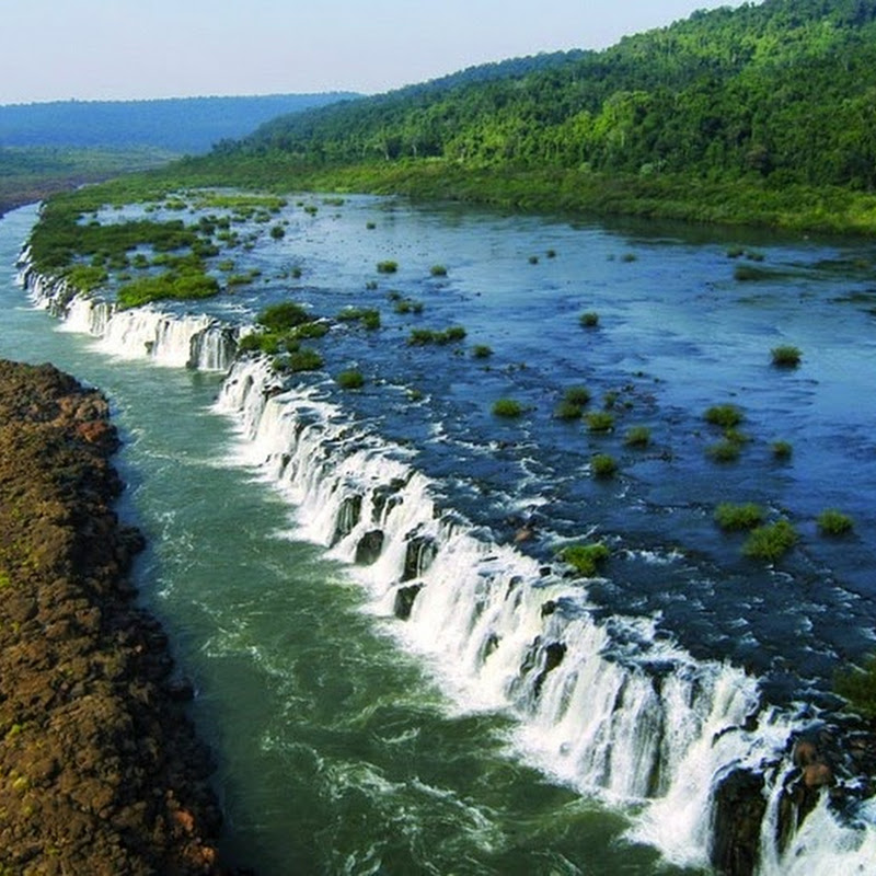 Mocona Falls: A 3 km Waterfall That Runs Parallel to The River
