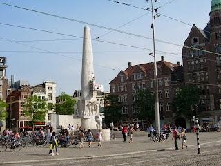 Obélisque à Amsterdam