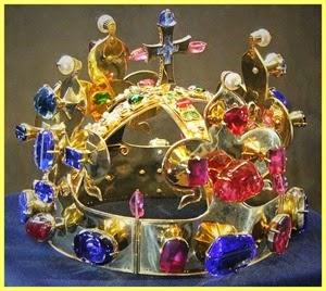 Reproducción de la Corona de Bohemia