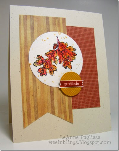 LeAnne Pugliese WeeInklings Lovely as a Tree Gratitude Stampin Up