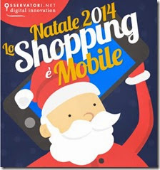 A Natale lo shopping è mobile