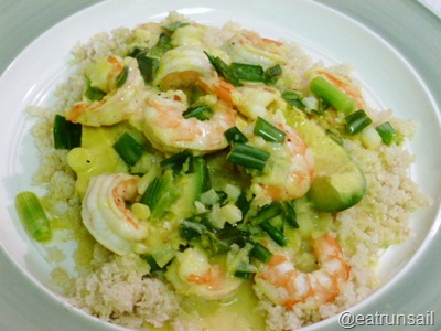 Jan 14 Prawn and Avocado Curry 001