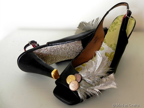 fancy DIY shoes