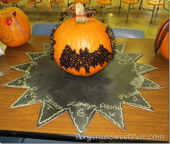 MMS Pumpkin Bat Side