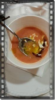 Immagine della ricetta del gazpacho andaluz bodegòn azoque zaragoza