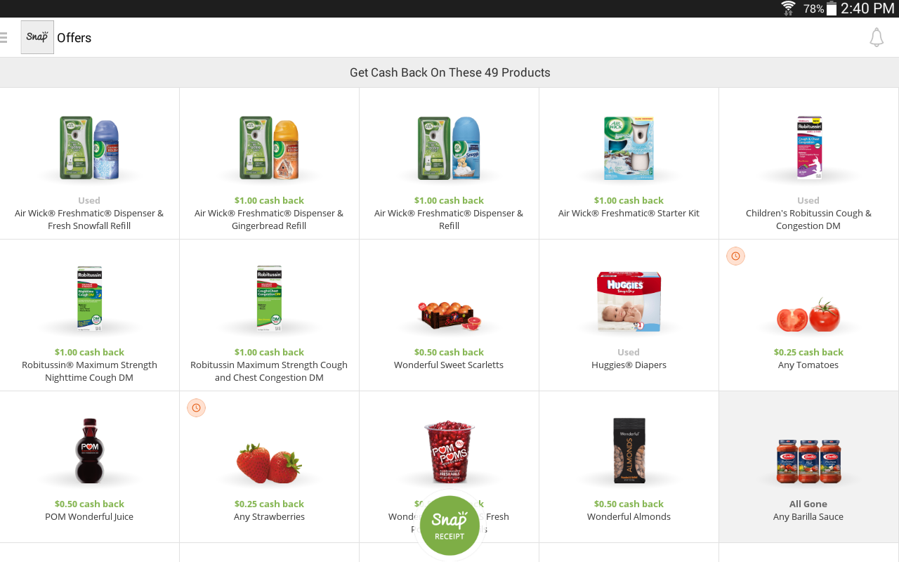 Snap by Groupon: Grocery Deals - screenshot