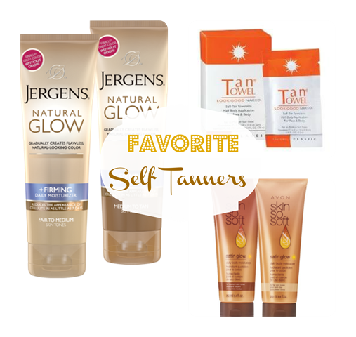 Self Tanner Collage