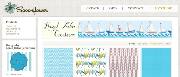 spoonflower shop screen capture