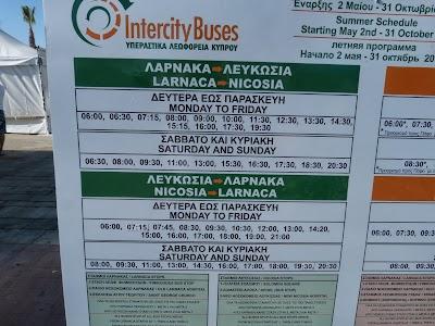 Orar autobuze din Larnaca