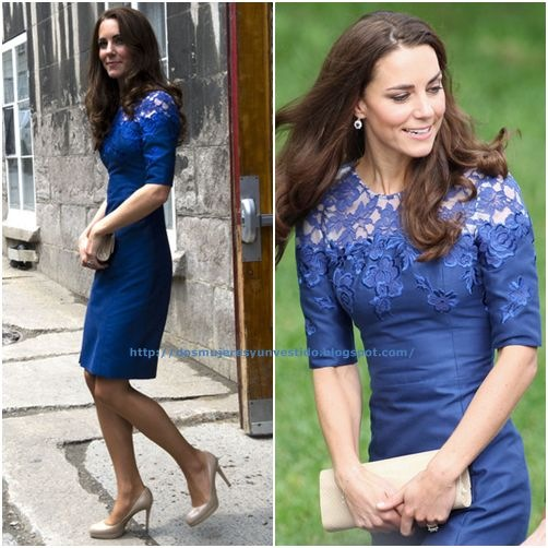 Kate Middleton attends a Freedom of the City Ceremony outside City Hall on July 3, 2011 in Quebec (3)